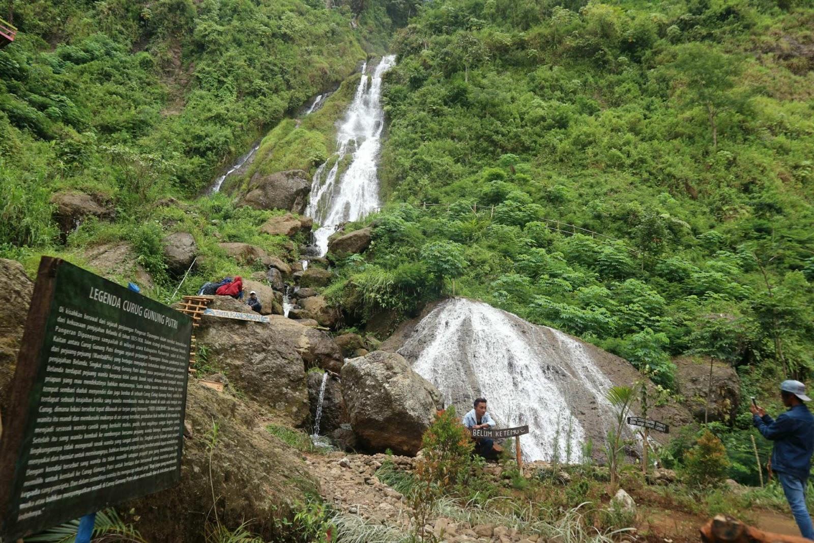 curug gunung putri purworejo