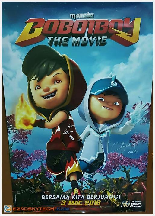 BoBoiBoy : The Movie - Kejutan Kuasa Baru BoBoiBoy ?