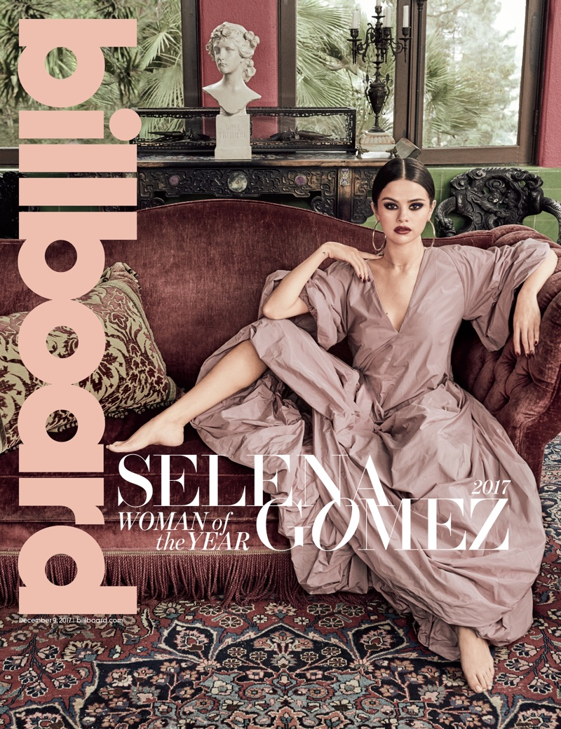 Selena Gomez on Billboard Magazine December 9th, 2017 Cover