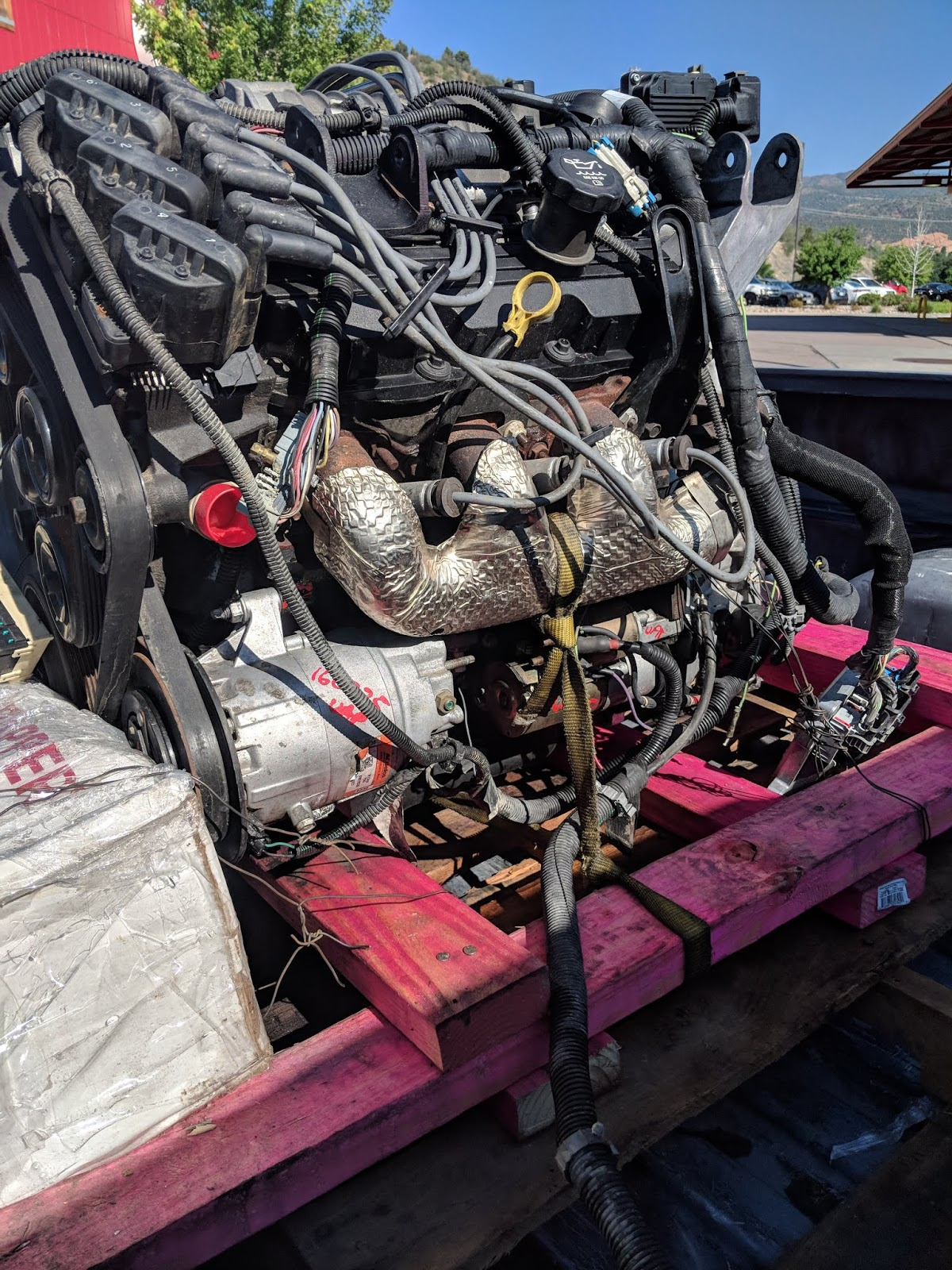 Found my Donor engine and transmission on