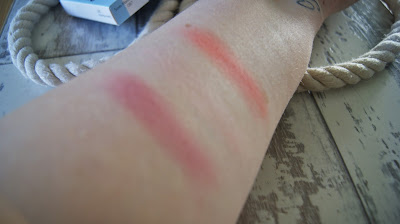 Sleek Blush By 3 palette in Santa Marina Swatches