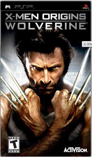 Download Game PPSSPP/PSP X-Men Origins - Wolverine (USA) ISO