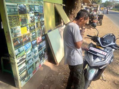 FOTO 4 ; Andri PLAT NOMOR Pagaden, Subang
