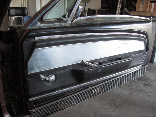 67 mustang deluxe interior door trim