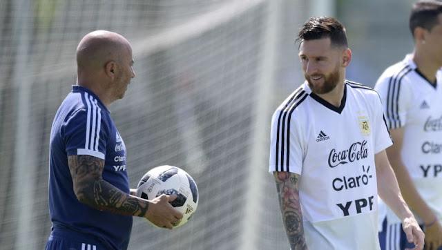 Ce qu'il s'est vraiment passé entre Messi et Sampaoli