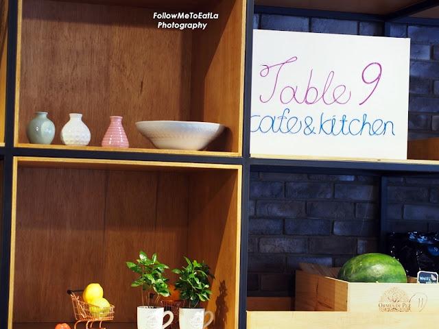 Table9 Cafe & Kitchen At Bangsar Jalan Telawi 3 Kuala Lumpur