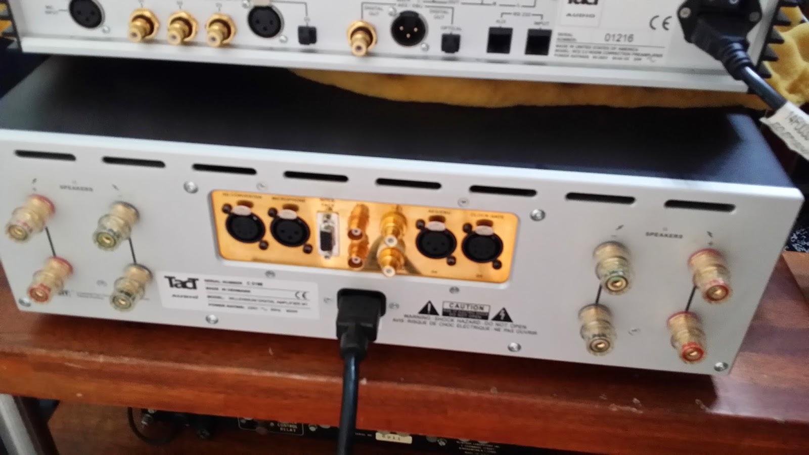 Tact audio millennium mkii  intergrated (Demo) 20140603_185230
