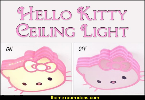 hello kitty ceiling light  Hello Kitty bedroom ideas - Hello Kitty bedroom decor - Hello Kitty bedroom decorating - Hello Kitty bedroom furniture - Hello Kitty Wallpaper Mural - Hello Kitty Throw Pillows  - Hello Kitty bedding - Hello Kitty Rugs