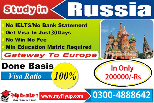 Study in Russia consultants