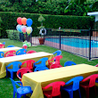 Children's table and chair for rental.