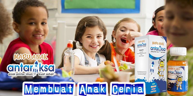 Vitamin Anak Madu Antariksa cara untuk membuat anak ceria