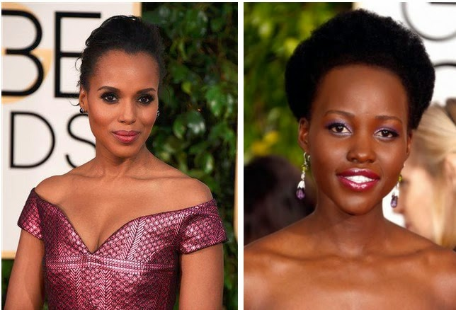 KERRY WASHINGTON LUPITA NYONGO'O GOLDEN GLOBES