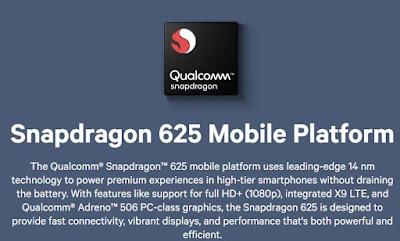 Spesifikasi Processor Snapdragon 625 yang digunakan dalam Xiaomi Redmi 5 Plus