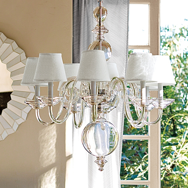Serena Lily Anya Blown Glass Chandelier