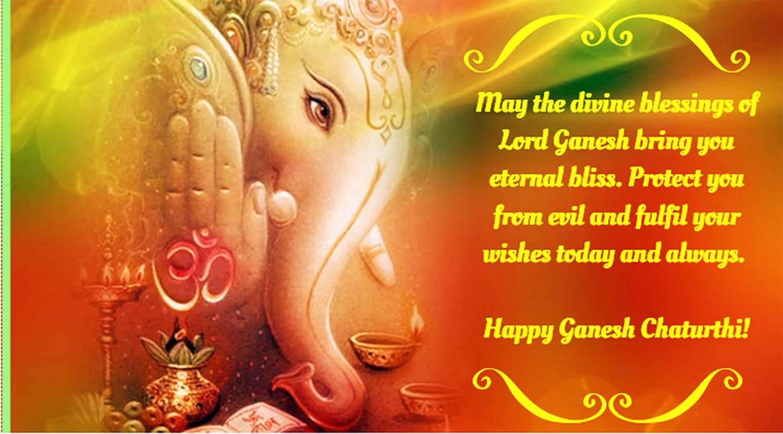 Beautiful greetings for Ganesh Chaturthi