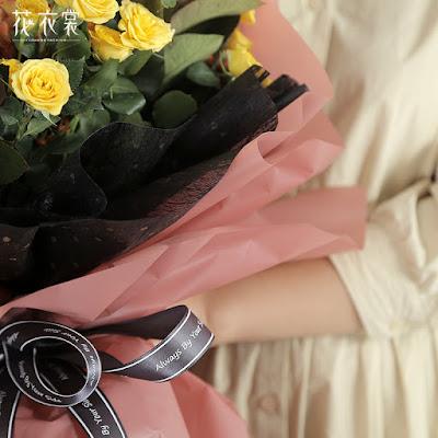 Kertas Buket Bunga / Flower Bouquet Wrapping Paper (Seri JYZ)