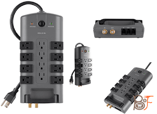 Belkin Pivot Plug Surge Protector, 12-Outlet, the best protection device