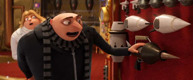Dru and Gru in Despicable Me 3
