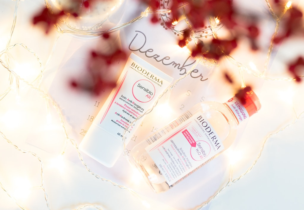 Giveaway mit Bioderma Sensibio am ersten Advent des Liebster Blogger Adventskalenders