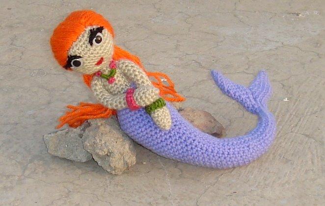 Amigurumi Mermaid Tail : Anything Creative: Amigurumi Mermaid