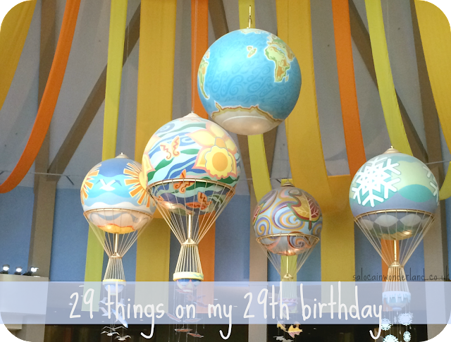 29 things on my 29th birthday