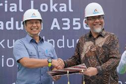 Inalum dan Toyota Indonesia MoU Penggunaan Aluminium Foundry Alloy
