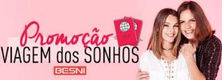 Participar Promoção Besni Dia das Mães 2017 Viagem dos Sonhos