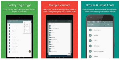 aplikasi mengganti font android