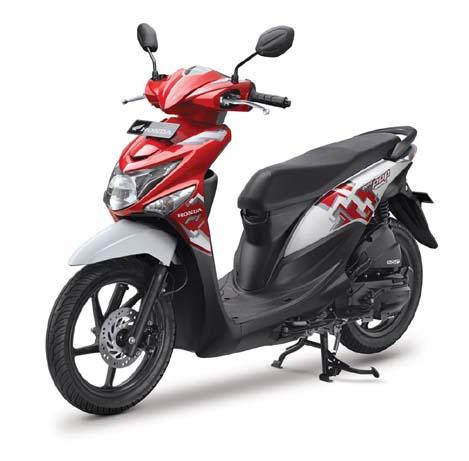 Pasaran Harga Bekas MOTOR HONDA BEAT POP Tahun 2016 Wilayah Tangerang Jakarta