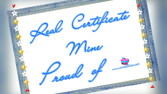 You're not for me, but i'm here for you. Real certificate. Mine. Proud of myself.