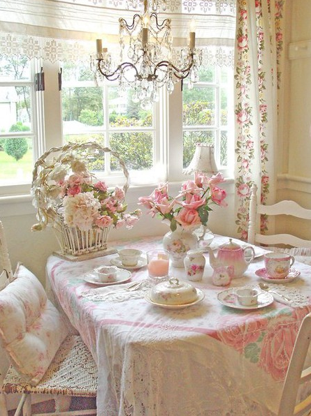 Romantic Homes Decorating: Farm House Decor: Cottage Style Home Decorating: What's