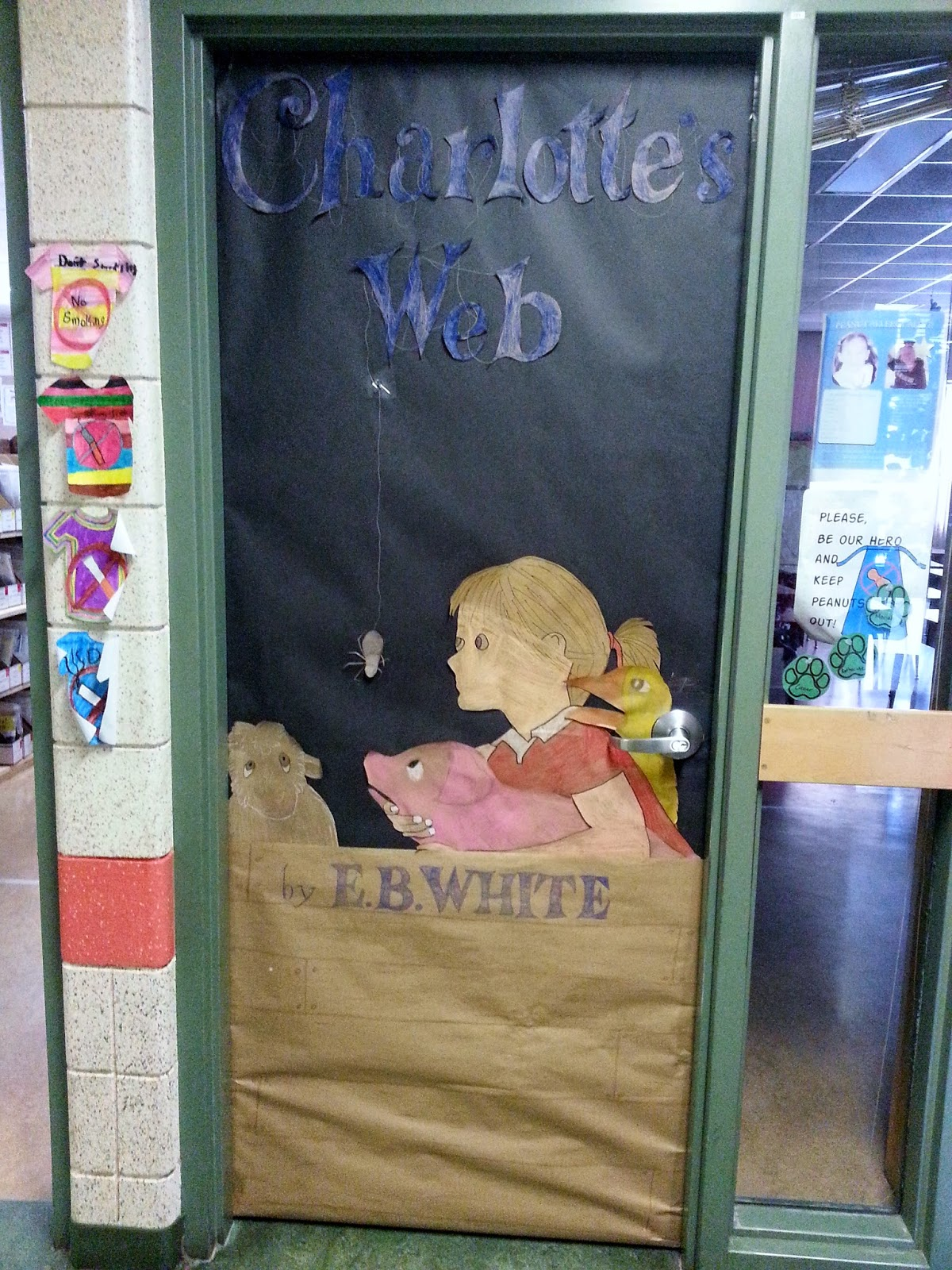 Reading with Mrs. D: Book Doors!