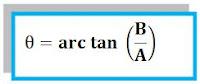 rumus arah resultan 2 vektor tegak lurus