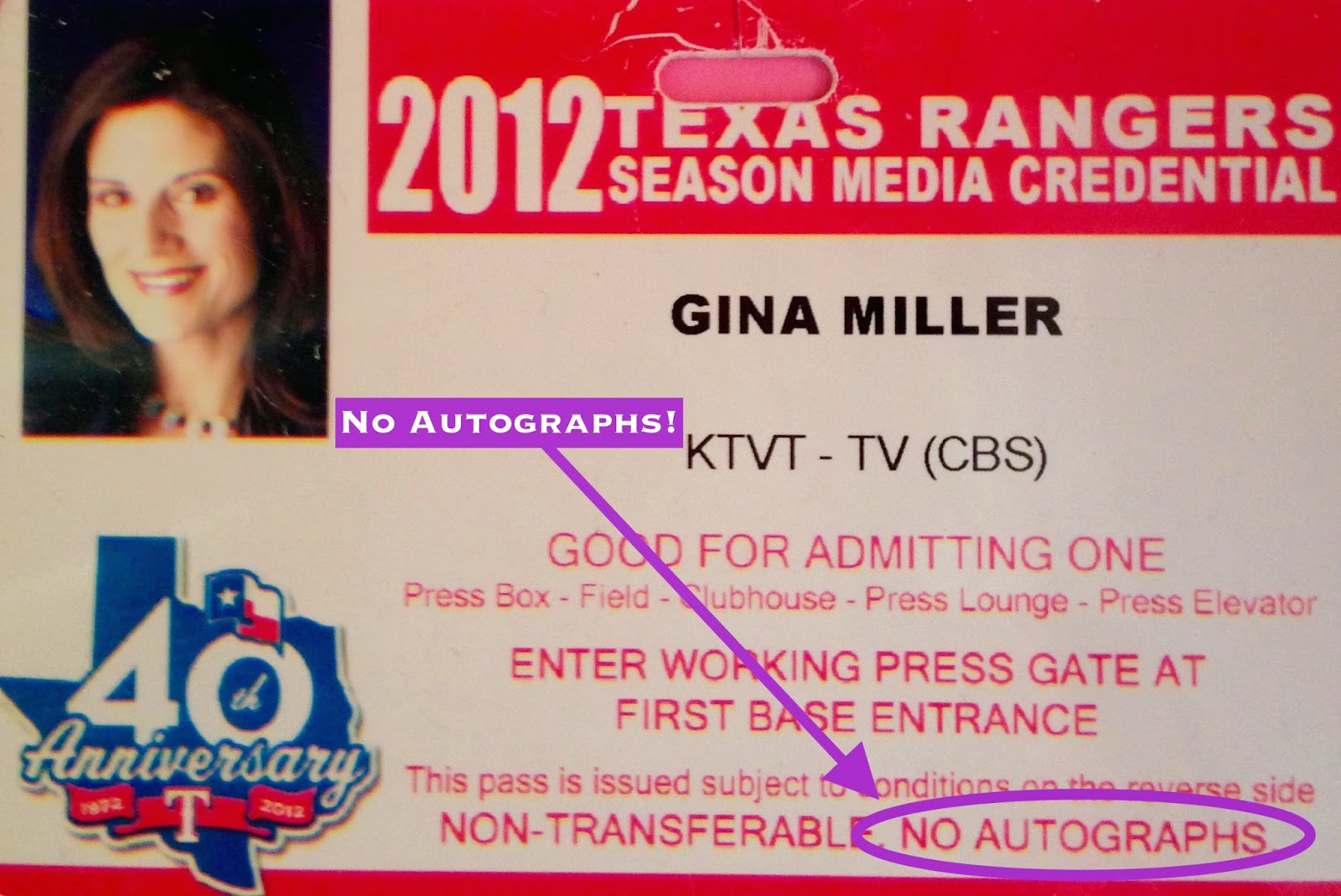 texas rangers credentials, sports broadcasting, sports media