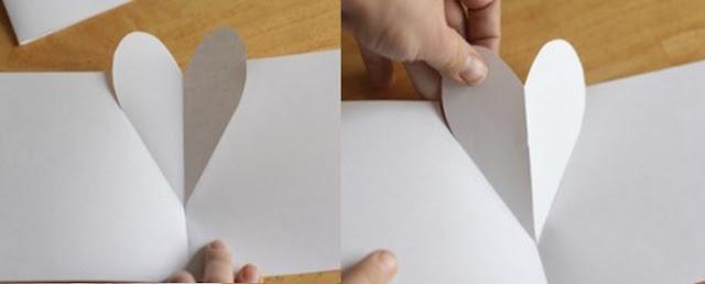 sevgiliye sürpriz kalp yapımı