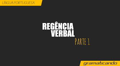 regência verbal 1.1