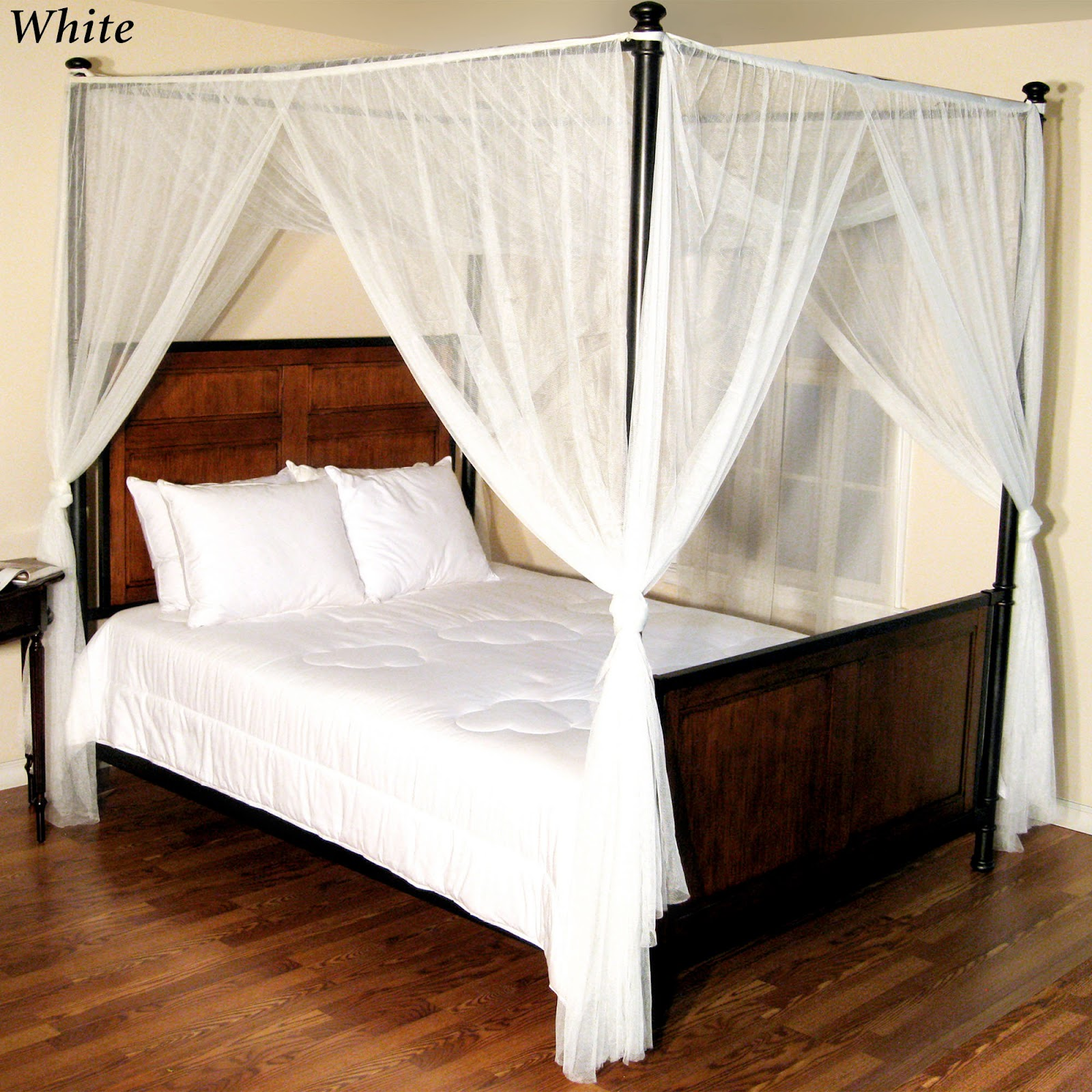 Simple Four Poster Canopy Beds 14