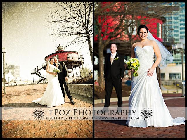 Pier 5 Hotel Harbor Club Reception Wedding Photography Baltimore