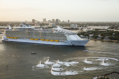 Royal Caribbean's New Harmony of the Seas Fort Lauderdale Maiden Departure