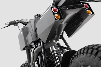 Yamaha Scorpio Exhaust by Thrive Motorcycle