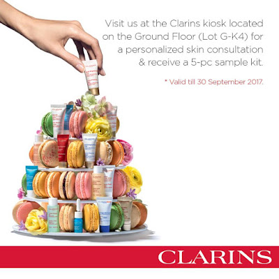 Free Clarins 5-pc Sample Kit Giveaway Promo
