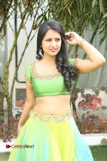 Actress Nikitha Bisht Stills in Lehenga Choli at Pochampally Ikat Art Mela Launch  0006.JPG