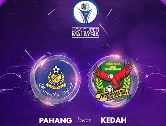 Live Streaming Pahang vs Kedah 5.8.2017 Liga Super
