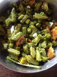 Hurlikayi Batani Carrot Palya