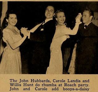 Carole Landis Willis Hunt John Hubbard