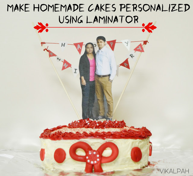 how to make personalized cakes at home