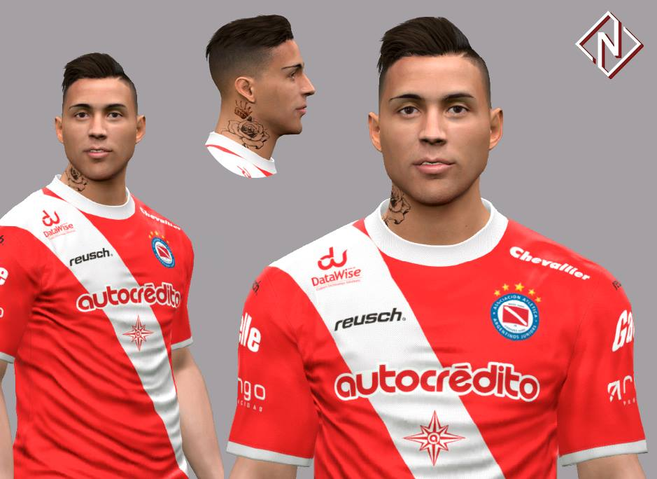 PES 2017 Damian Batallini Face by Nahue