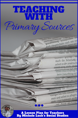 A quick list of primary source documents and suggestions for analysis to help meet standards in the secondary classroom. #primarysources #analysis #highschool #middleschool