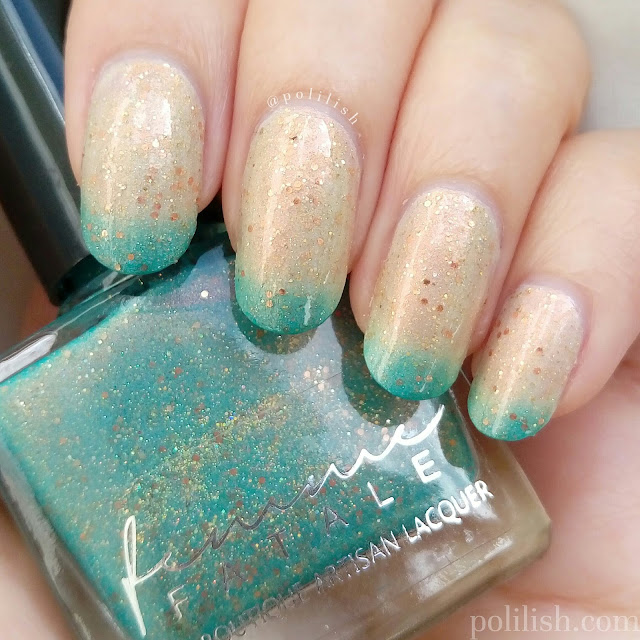 Femme Fatale Cosmetics 'A Fortune Teller's Charm', swatch by polilish