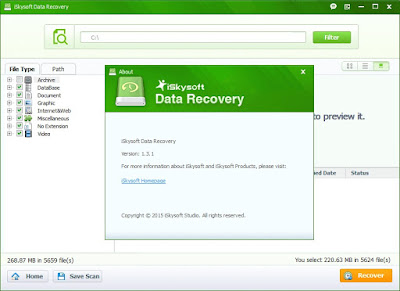 iskysoft data recovery tool for mac